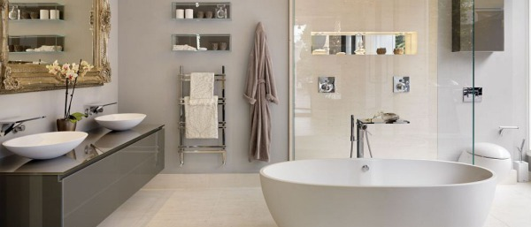 Stylish bathrooms add value
